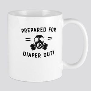 Prepared For Diaper Duty Mugs