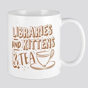 Libraries and kittens and TEA Mugs