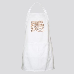 Libraries and kittens and TEA Light Apron