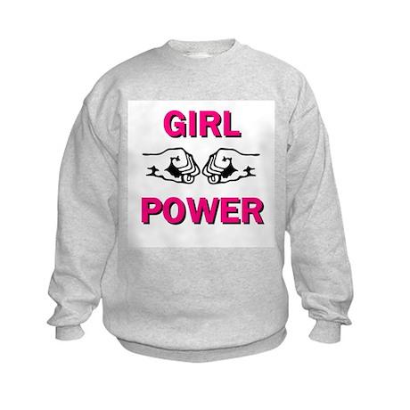 Girl Power Kids Sweatshirt