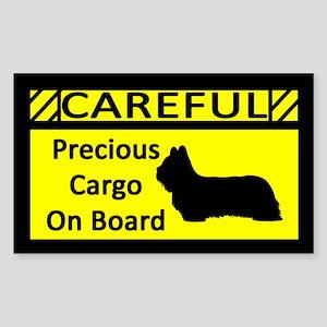 Precious Cargo Skye Terrier Sticker (Rect)