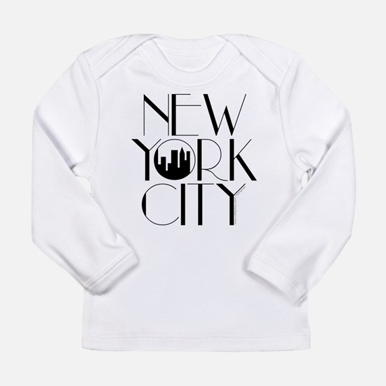 Long Sleeve New York City T-Shirt (Grey avail.) Lo