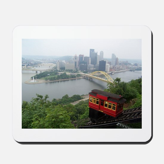 Pittsburgh Skyline Mousepad