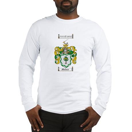 Mooney Family Crest Long Sleeve T-Shirt