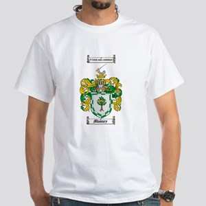 Mooney Family Crest White T-Shirt