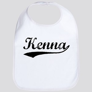 Vintage Kenna (Black) Bib