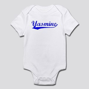 Vintage Yasmine (Blue) Infant Bodysuit