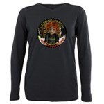 Knotted Fists Plus Size Long Sleeve Tee T-Shirt