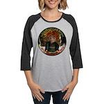 Knotted Fists Womens Baseball Long Sleeve T-Shirt