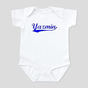 Vintage Yazmin (Blue) Infant Bodysuit