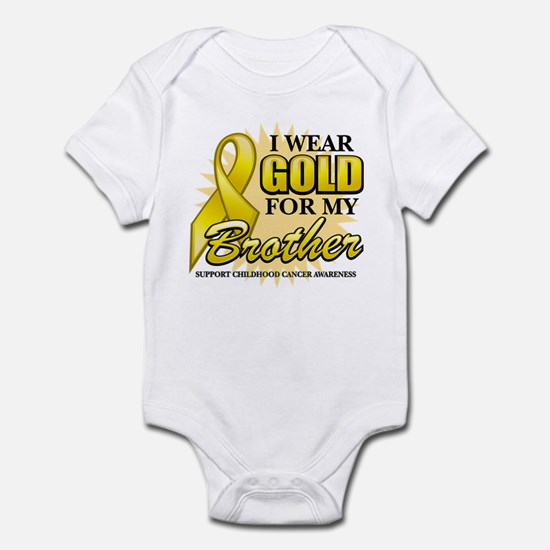 Gold For My Brother Infant Bodysuit