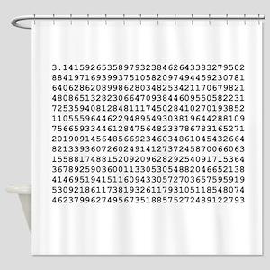 Pi 3.14 Shower Curtain
