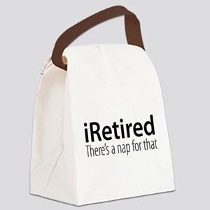 iRetired Canvas Lunch Bag