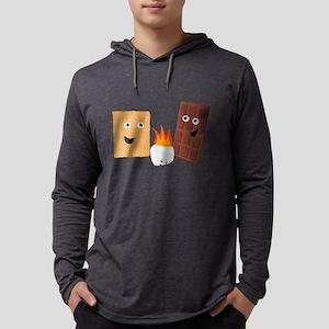 Group Hug Mens Hooded Shirt