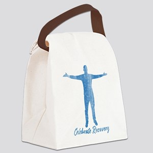 Celebrate Recovery Canvas Lunch Bag