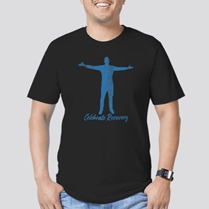 Celebrate Recovery Men's Fitted T-Shirt (dark)
