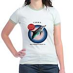 Dolphin Cerra Jr. Ringer T-Shirt