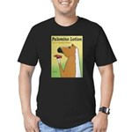Palomino Lotion Men's Fitted T-Shirt (dark)
