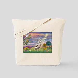 Mona Lisa (new) & Dalmatian Tote Bag