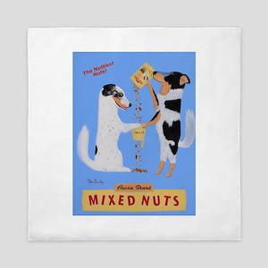 Aussie Brand Mixed Nuts Queen Duvet