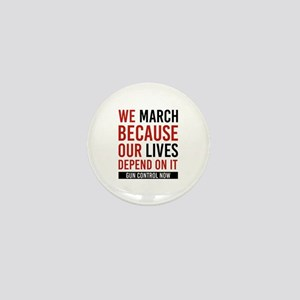 March For Our Lives Mini Button