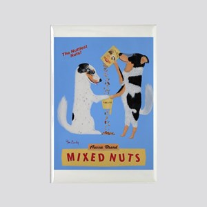 Aussie Brand Mixed Nuts Rectangle Magnet