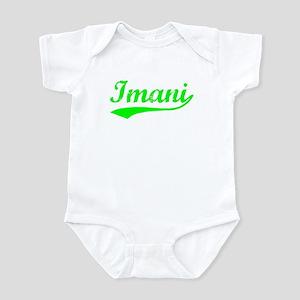 Vintage Imani (Green) Infant Bodysuit