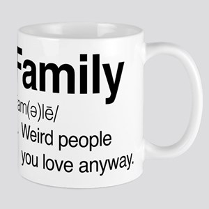 Family Weird People Mug