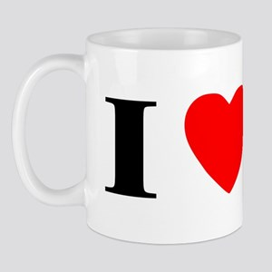 I Heart Skye Terrier Mug