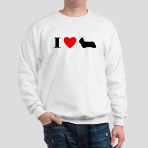 I Heart Skye Terrier Sweatshirt