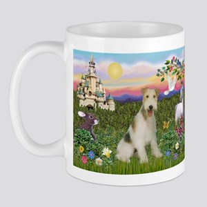 Castle & Wire Fox Terrier Mug