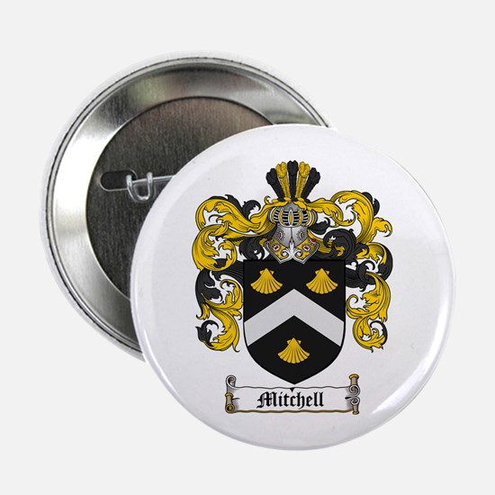 "Mitchell Family Crest 2.25"" Button (100 pack)"