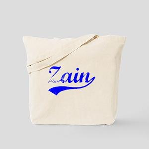 Vintage Zain (Blue) Tote Bag