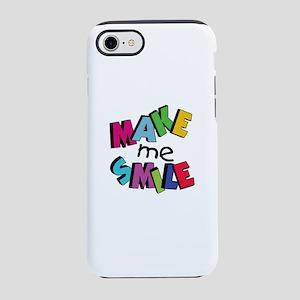 Make me smile - love - fun iPhone 8/7 Tough Case