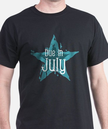 Blue Star Due In July T-Shirt