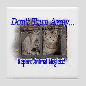 Don't turn away... Tile Coaster
