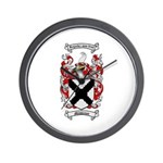 Middleton Family Crest Wall Clock