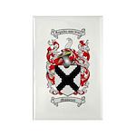 Middleton Family Crest Rectangle Magnet (10 pack)
