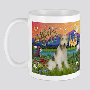 Wire Fox Terrier Fantasy Mug