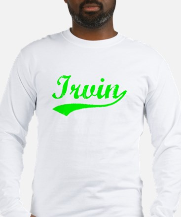 Vintage Irvin (Green) Long Sleeve T-Shirt