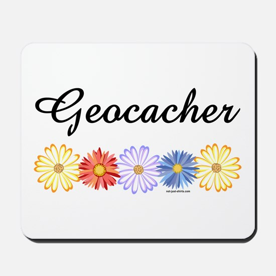 Geocacher Asters Mousepad
