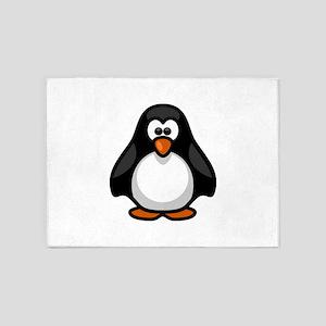 penguin 5'x7'Area Rug