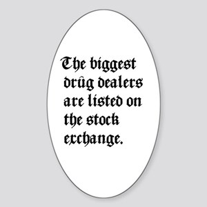 Biggest Dealers Oval Sticker