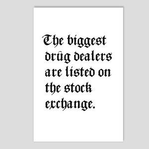 Biggest Dealers Postcards (Package of 8)