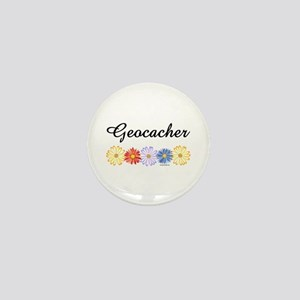 Geocacher Asters Mini Button