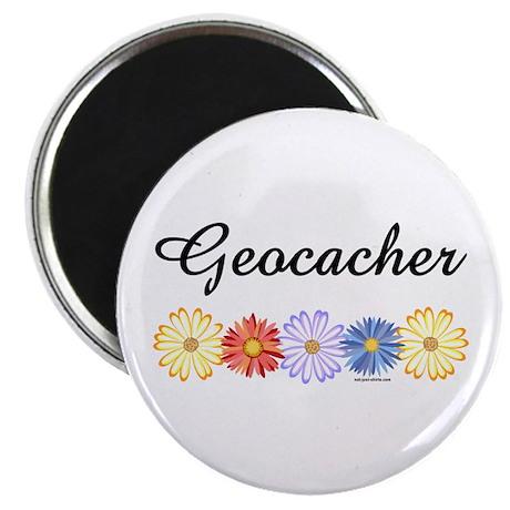 Geocacher Asters Magnet