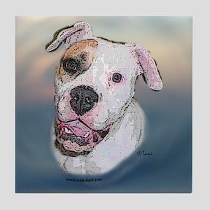 Rosie, Am Bulldog Tile Coaster