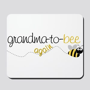 grandma to bee again Mousepad