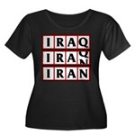 Iran 2009 Women's Plus Size Scoop Neck Dark T-Shir