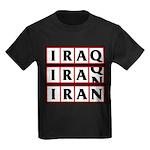 Iran 2009 Kids Dark T-Shirt